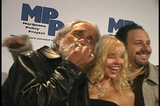 PLAYBOY, MARIJUANA, HEFNER, TOMMY CHONG AND MICHELLE PHILLIPS