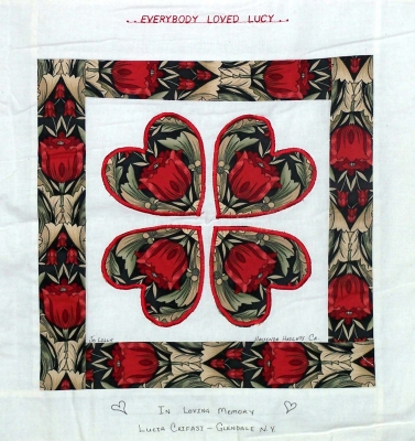 Quilt: Everyone Loves Lucia!